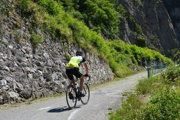 Lacets de Montvernier fietsen