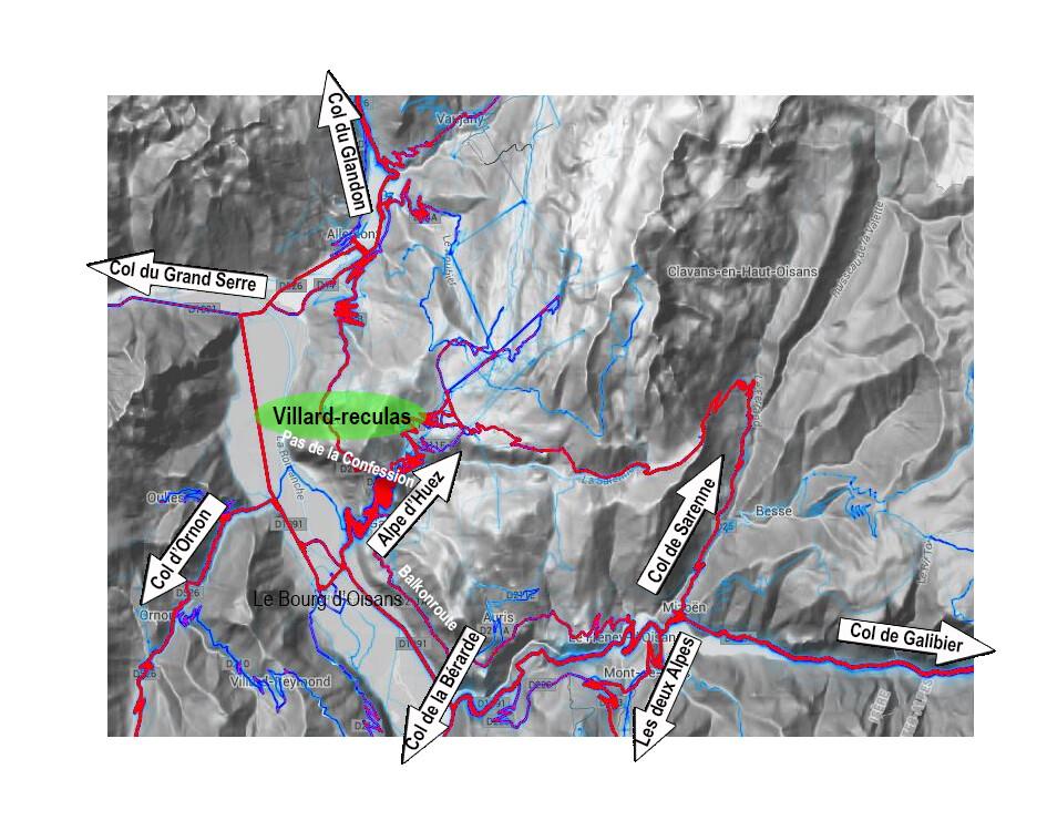 Heatmap Franse Alpen