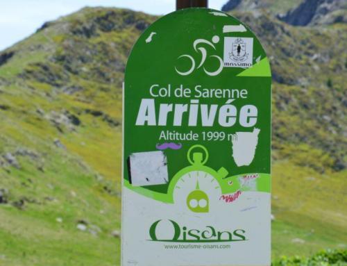 Bibberen op de Col de Sarenne